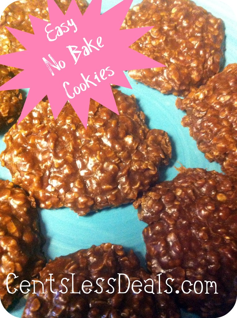 Chocolate Oatmeal No-Bake Cookies - CentsLess Deals