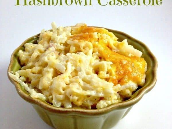Cracker Barrel Copycat Hashbrown Casserole recipe