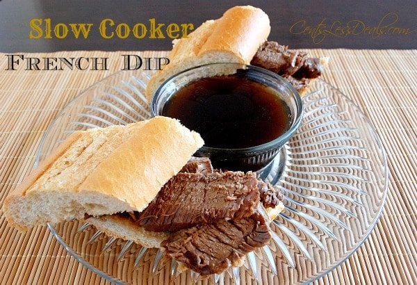 Slow Cooker French Dip recipe