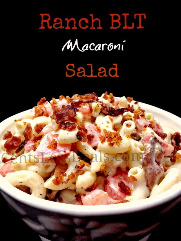 Ranch BLT Macaroni Salad