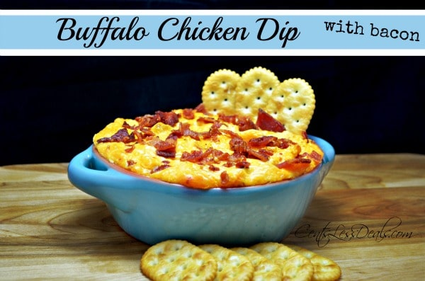 Buffalo Chicken Dip with Bacon recipe