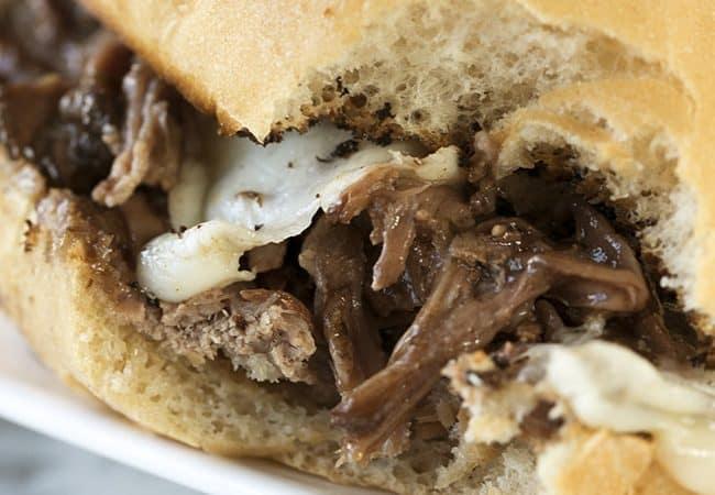 Crock Pot Italian Beef Sandwiches