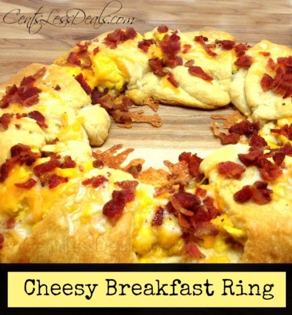 Cheesy Breakfast Ring recipe