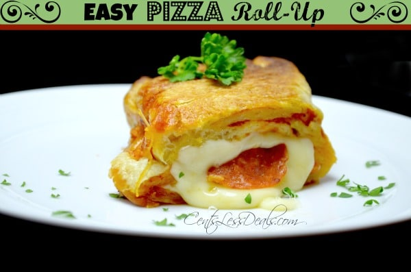 easy pizza roll-up recipe