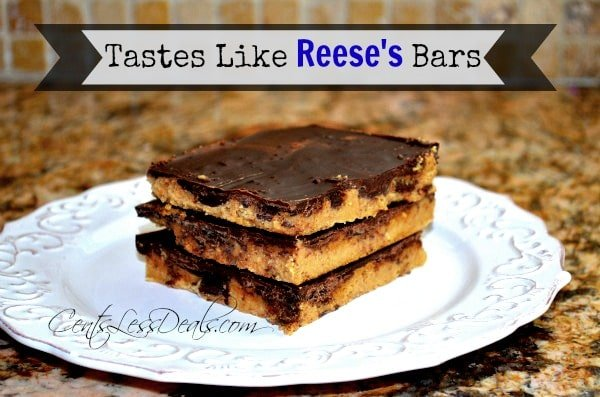 Tastes Like Reese's Bars Recipe