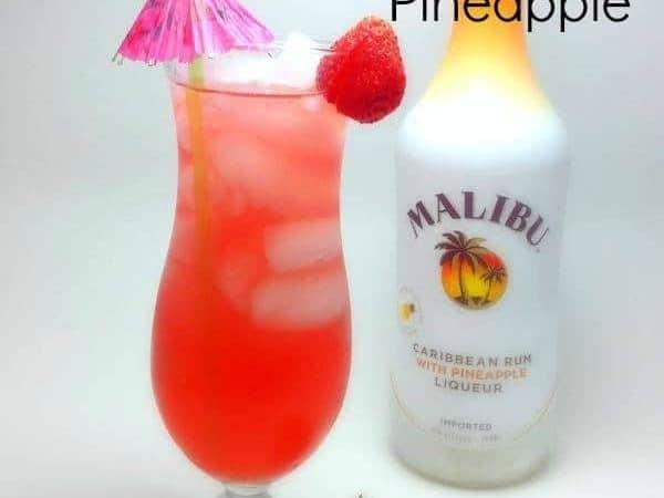 The Juicy Pineapple Drink recipe