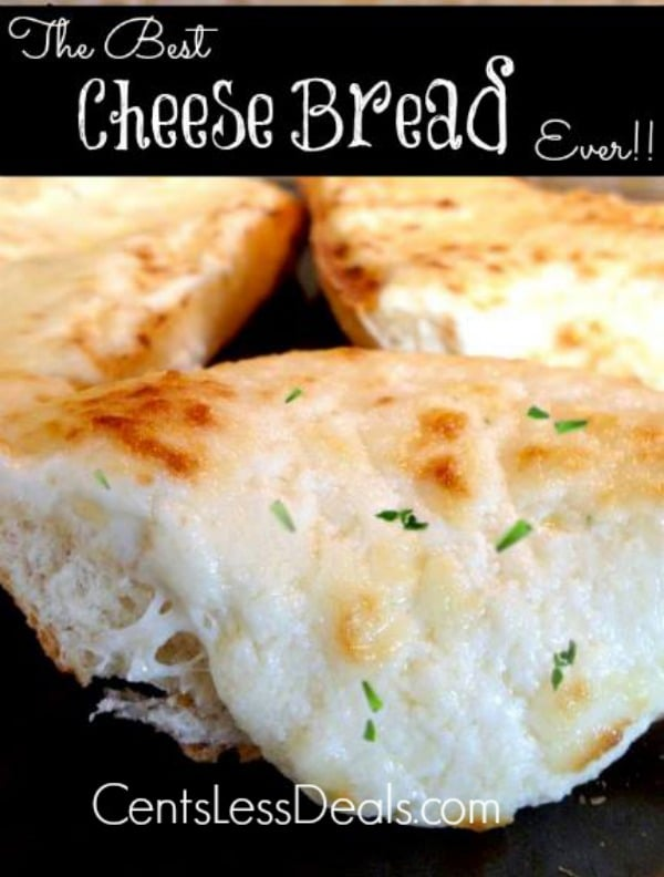 the best cheese bread you'll ever eat