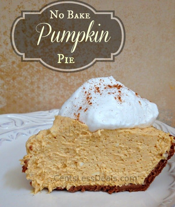This easy no No Bake Cream Cheese Pumpkin Pie is a family favorite and the best part is how easy it is to make! No need to turn on the oven and since this is best made ahead of time, it's the perfect ending to a busy meal!