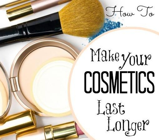 How to make your cosmetics last longer