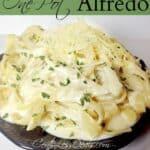 Easy One Pot Alfredo dinner