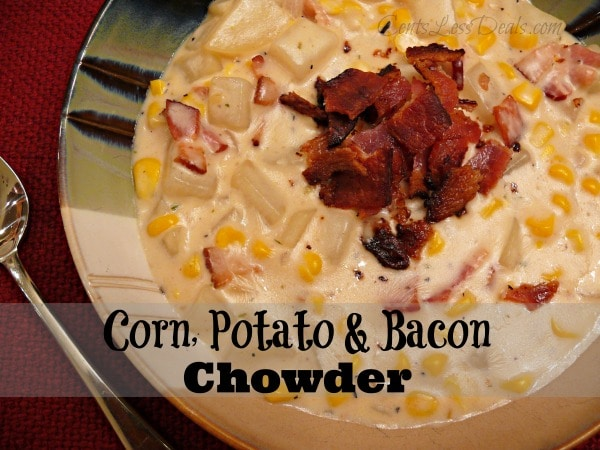 Corn Potato & Bacon Chowder