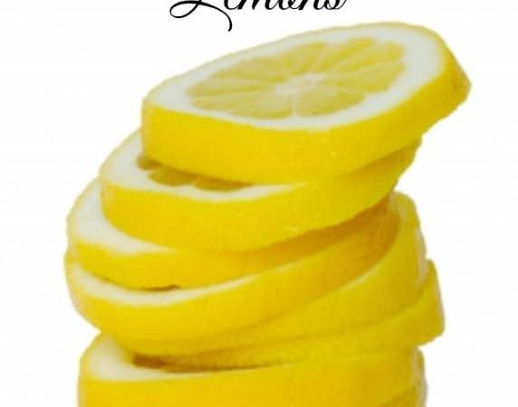 Household uses for lemons!!