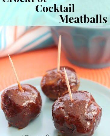 CrockPot Cocktail Meatballs