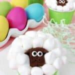 sheep cupcakes! so adorable!!