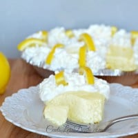 creamy lemon pie with only 4 ingredients!