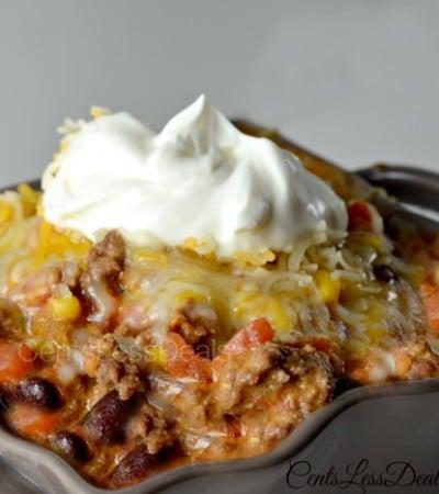 Easy Taco Chili recipe!