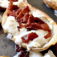3-Cheese Jalapeno Popper Potato Skins