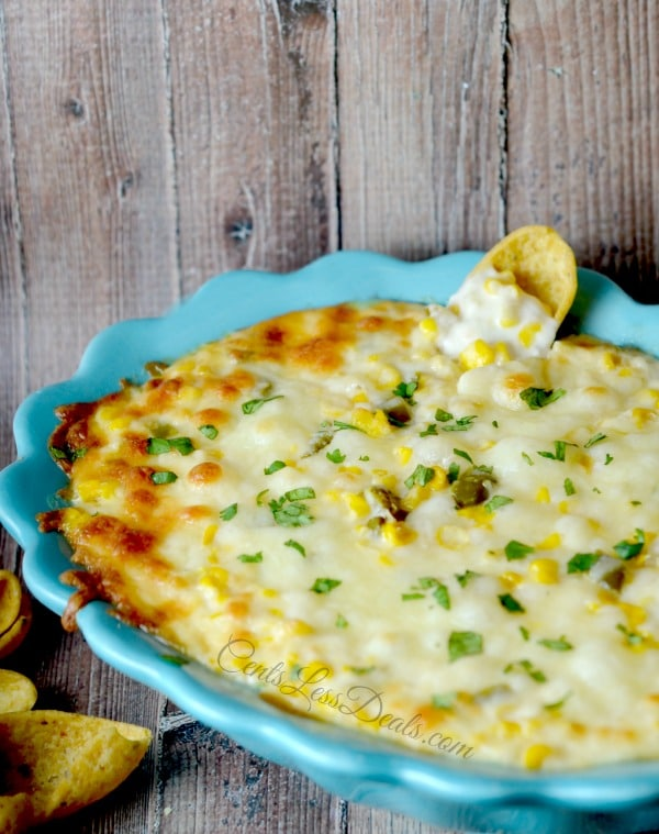Cheesy Corn Dip