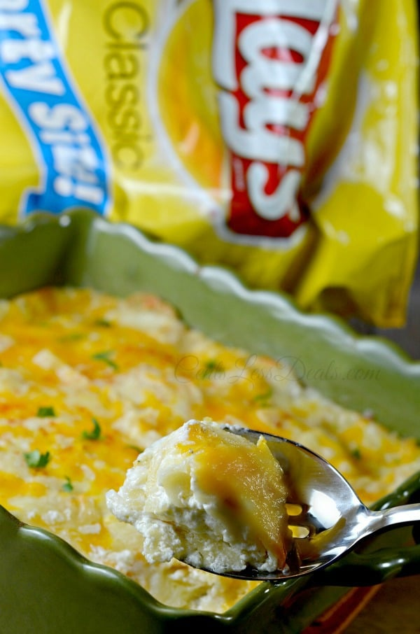 chips and dip au gratin