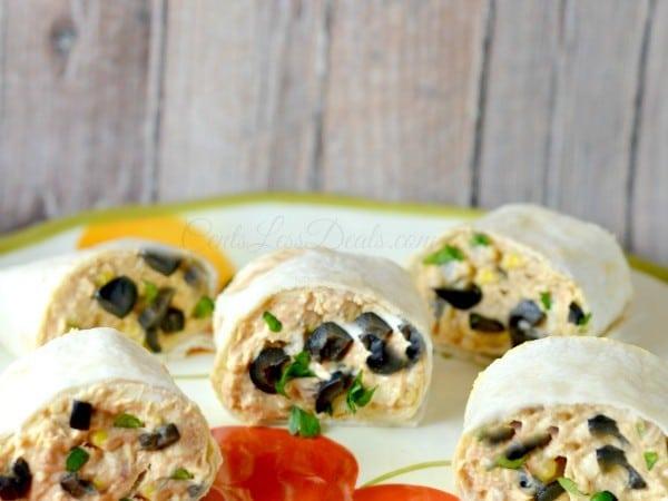 Fiesta Chicken Pinwheels recipe!