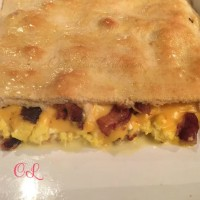 bacon egg and cheese crescent bake
