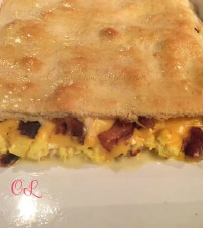 Bacon, Egg, & Cheese Crescent Bake recipe