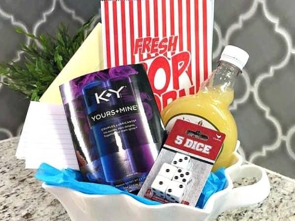 12 Days of Romance DIY Gift Basket! #KYTrySomethingNew #ad