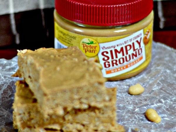 No Bake Peanut Butter Oatmeal Bars recipe