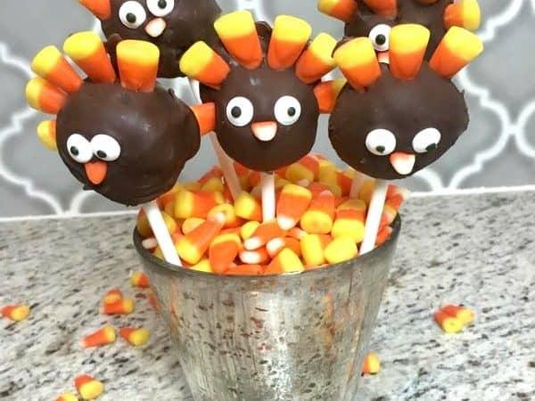 Thanksgiving Turkey pops!