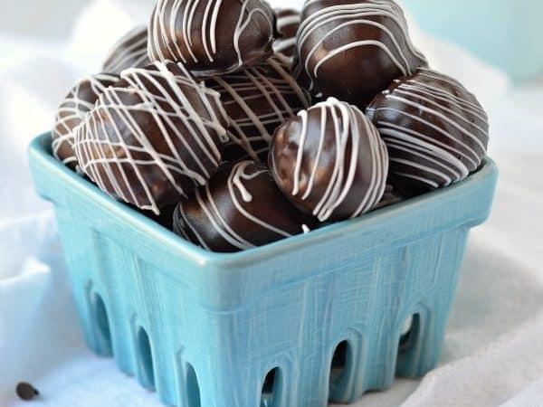 Chocolate Chip Cookie Dough Balls recipe