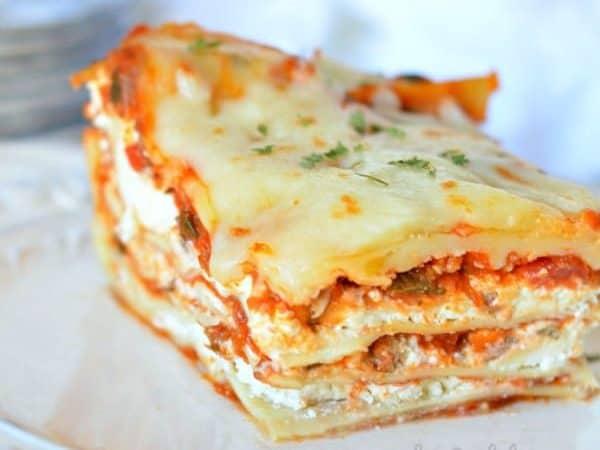 Cream Cheese Lasagna recipe