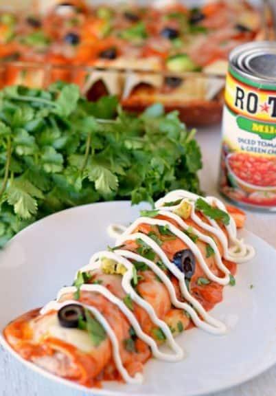 Easy Cheesy Chicken Enchiladas Centsless Meals
