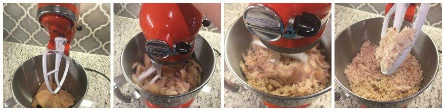 Kitchen hack shredded chicken