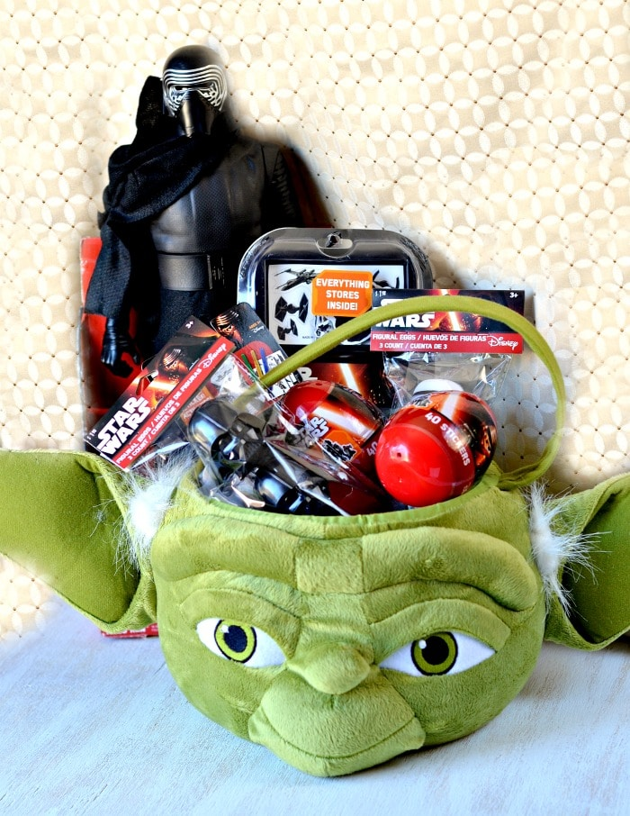 Fun ideas for easter baskets without candy sponsored by star wars basket negle Image collections