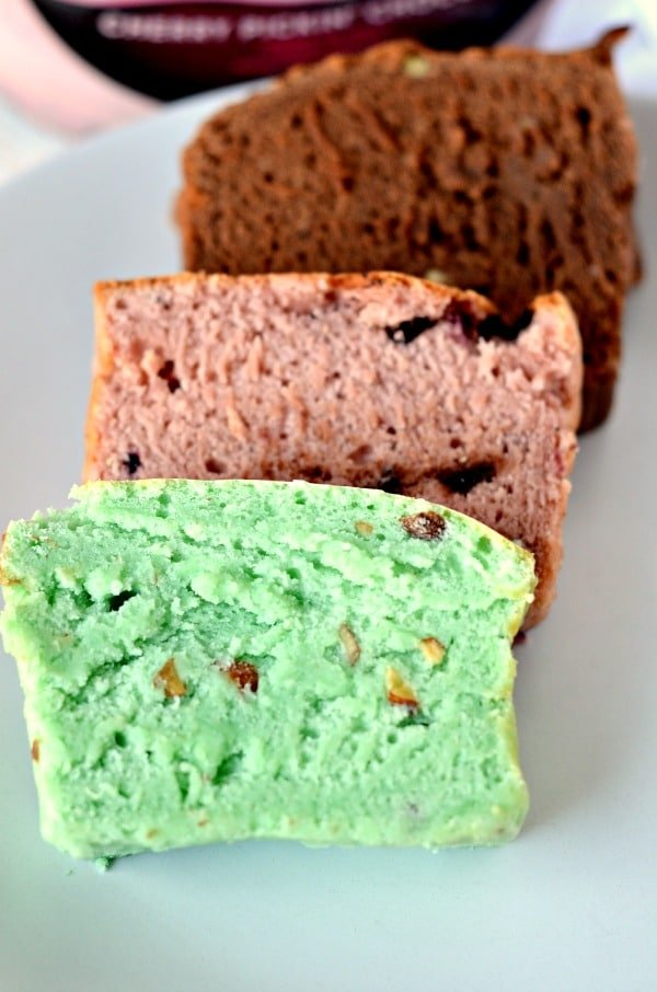 Blue Bunny ice cream bread
