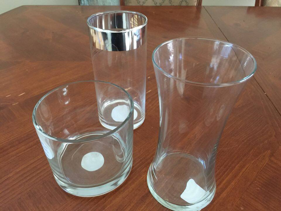 glass vases for gorilla glue apothecary