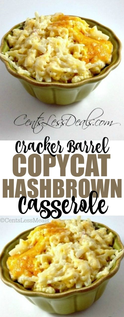 This recipe is every bit as good (if not better) than what you'll get at Cracker Barrel!! Your family will love you for this, it's comfort food at its best!