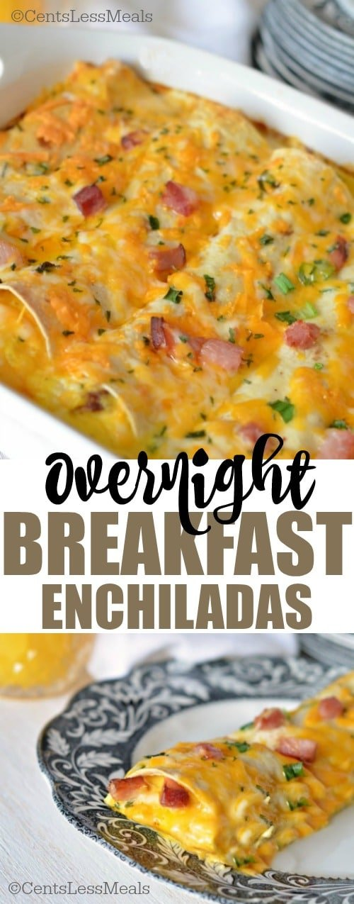 Overnight Breakfast Enchiladas recipe