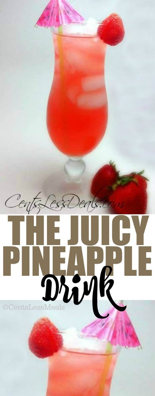 The Juicy Pineapple Drink
