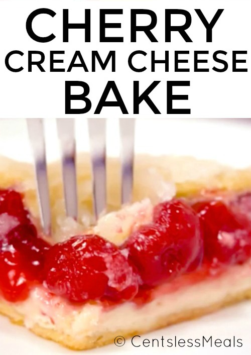 Cherry Cream Cheese Bake Centsless Meals