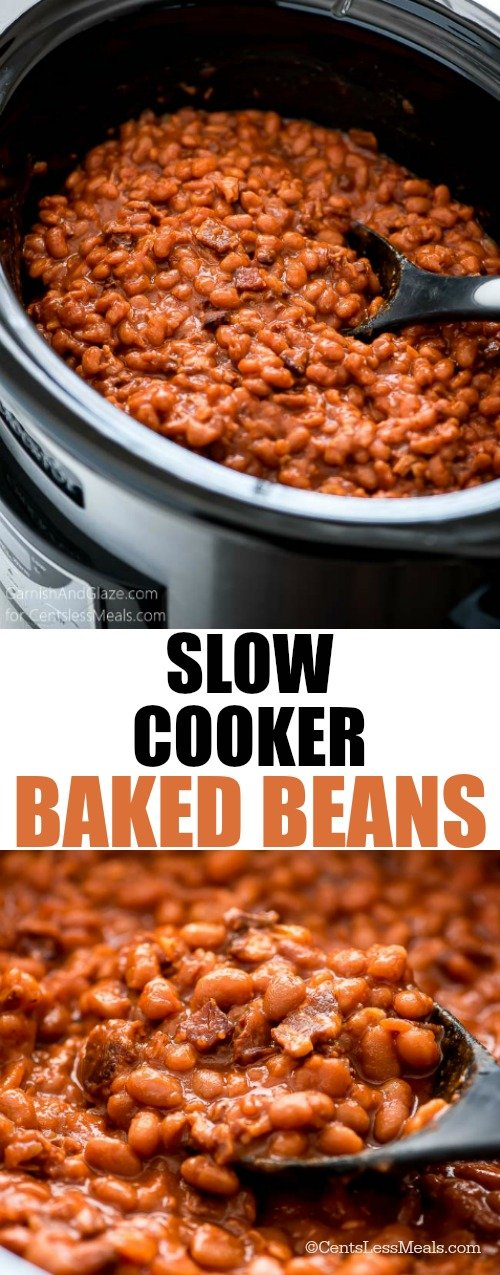 Slow Cooker Baked Beans - CentsLess Deals