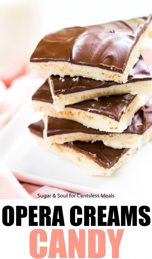 Opera Creams are a rich, old fashioned candy that's easy to make with just a few ingredients!