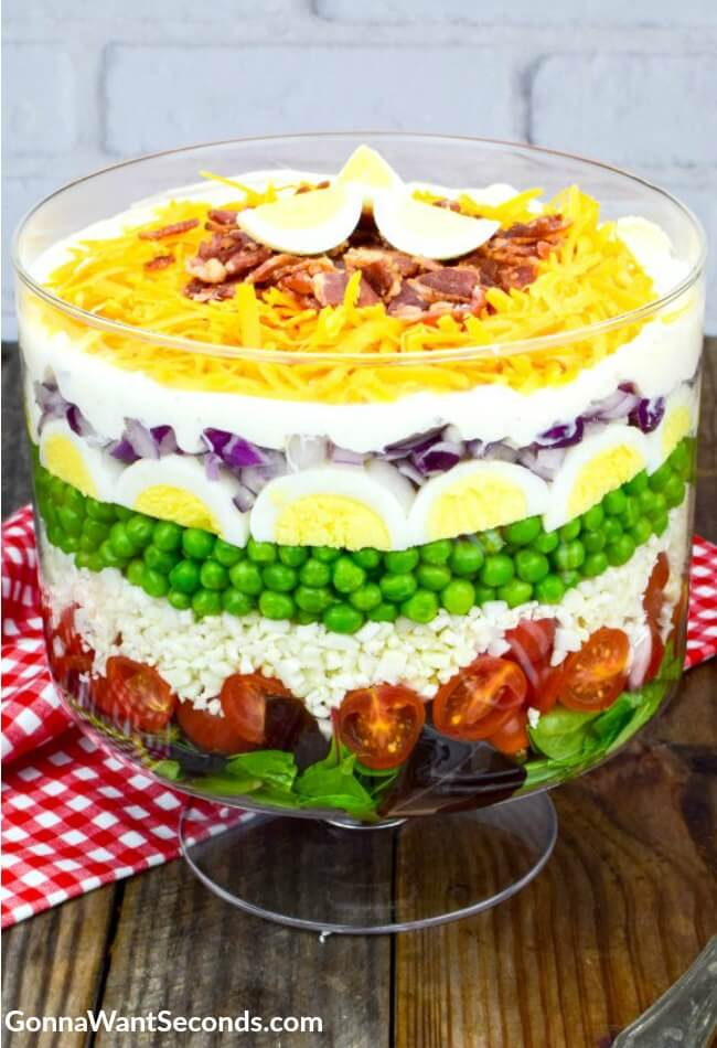 Seven Layer Salad-Gonna Want Seconds