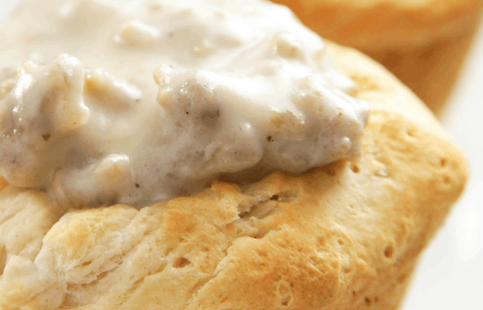Biscuit and Gravy Cups