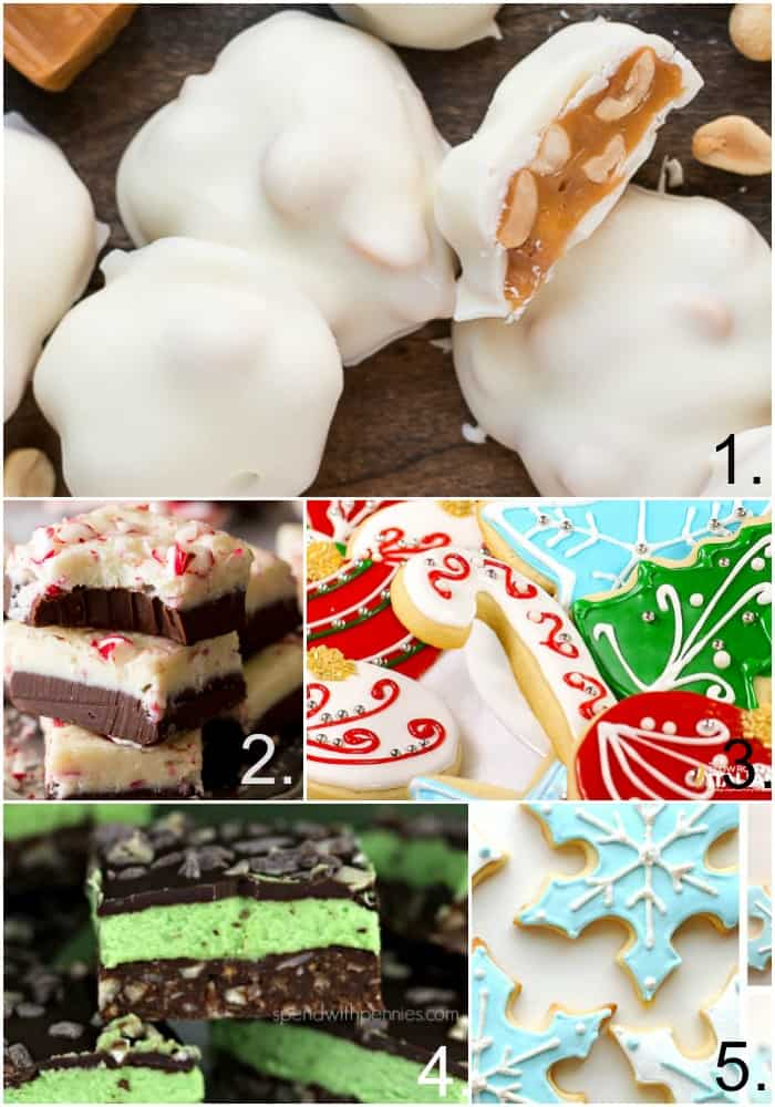 Here are some great recipes for icing, fudge, and bars. Great additions to your cookie try for the holidays!