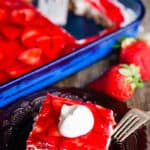 Strawbery Pretzel Salad Recipe