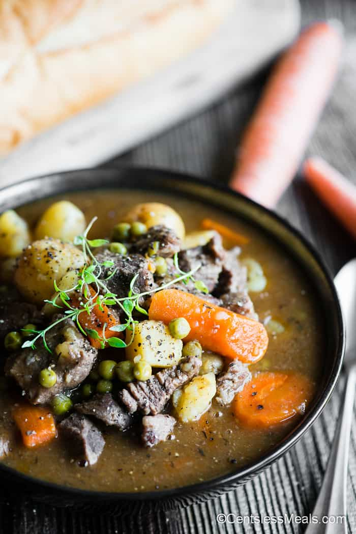 Instant Pot Beef Stew Recipe Quick Hearty Centsless Meals