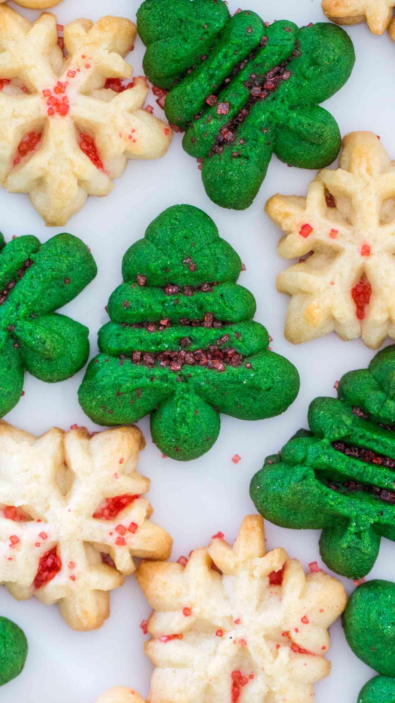Spritz Cookies Centsless Meals