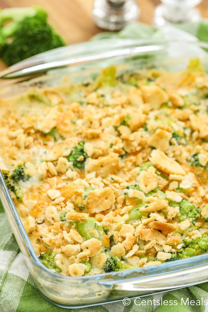 Close up photo of Broccoli Casserole