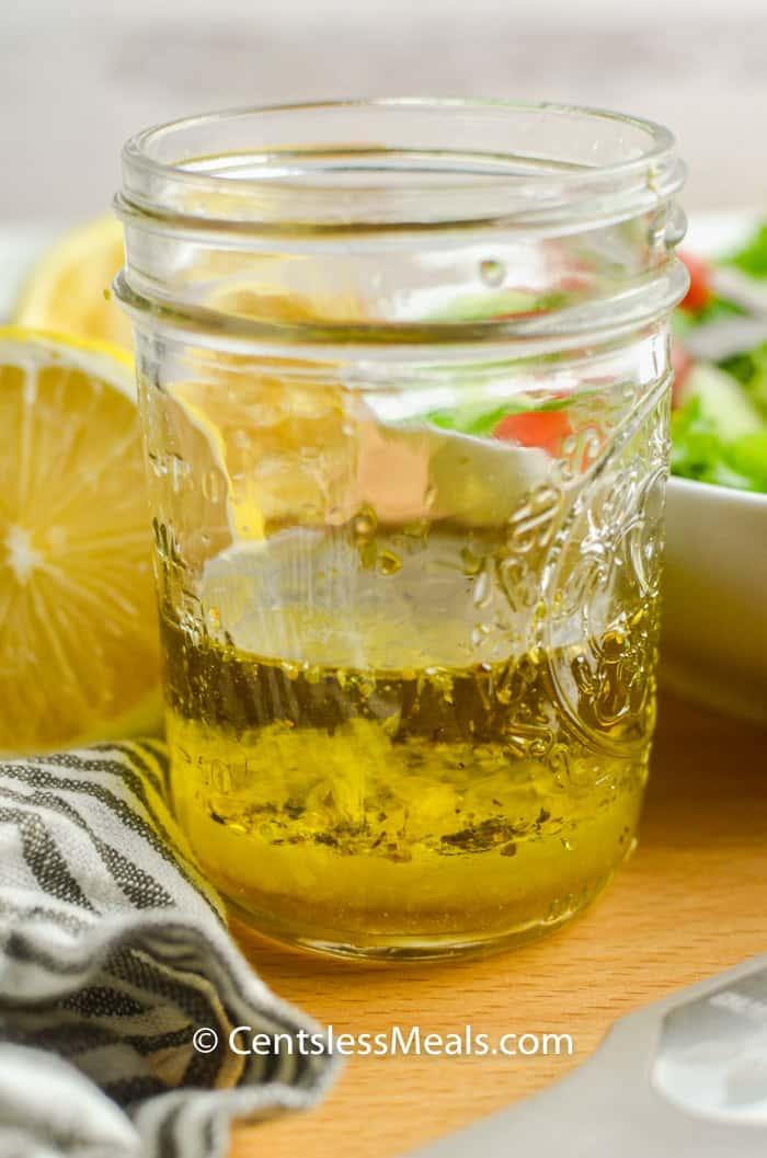 ingredients to make Lemon Vinaigrette